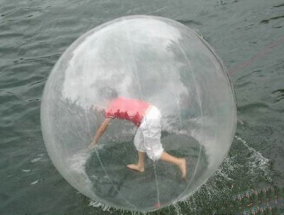 Questions over zorb ball safety