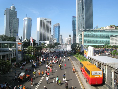 Threat to visitors to Indonesia as terrorists hit Jakarta
