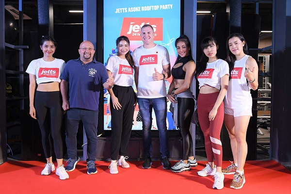 Jetts Fitness opens 11th club in Bangkok