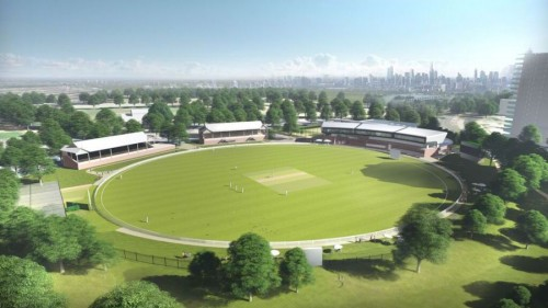 Designs revealed for new Junction Oval at Albert Park
