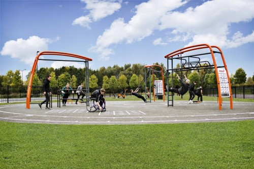 Kompan outdoor fitness system wins at Good Design Awards