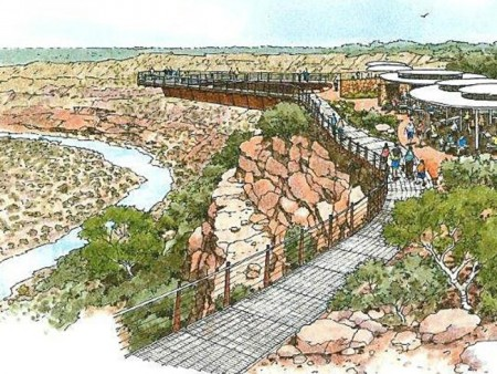 Western Australian Government commits $20 million to build skywalks in the Kalbarri National Park