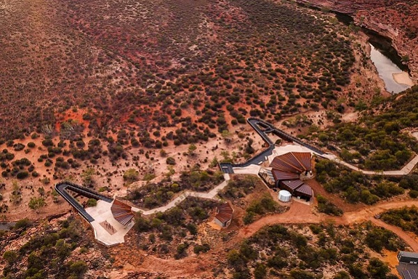 Skywalk attraction opens 100 metres above Western Australia's Murchison Gorge