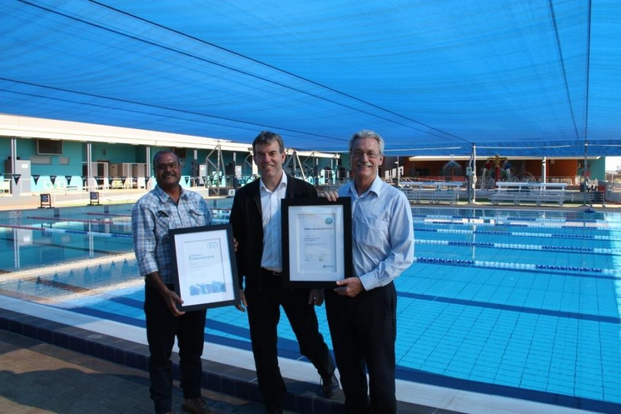 Karratha Leisureplex recognised for WaterWise initiatives