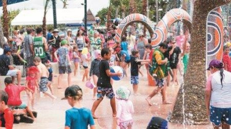 Yeppoon water play area wins tourism excellence award