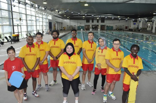 New career pathway for lifeguards from mixed cultural backgrounds