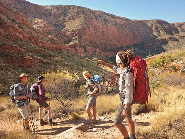 Northern Territory Larapinta Trail offers new visitor experiences