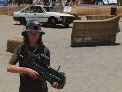 Scouts set Laser Tag world record