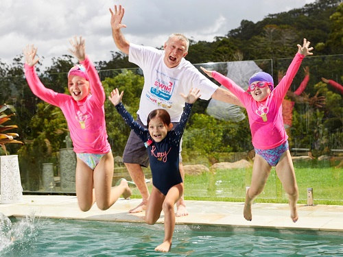 Thousands of under-fives take to the water as part of Learn2Swim Week