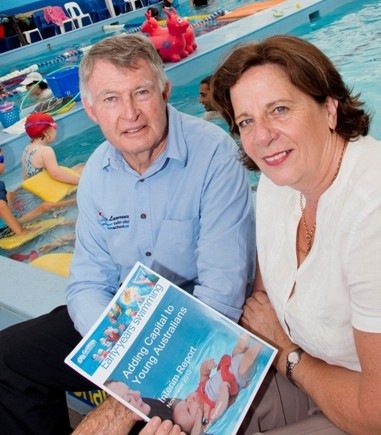 Research suggests swimming makes children smarter