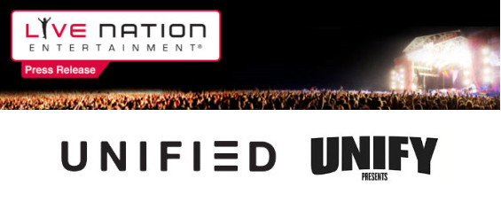 Live Nation and Unified partner to present new Heavy Music touring force