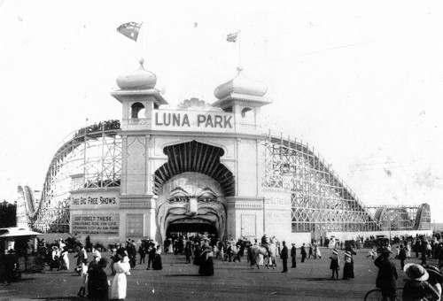 NFSA celebrates Luna Park Melbourne's 100th birthday at ACMI and Federation Square