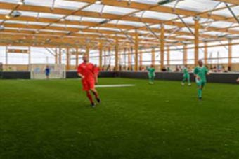 Report Calls for 'more facilities for physical activity'