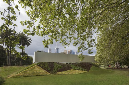 New MPavilion opens in Melbourne's Queen Victoria Gardens