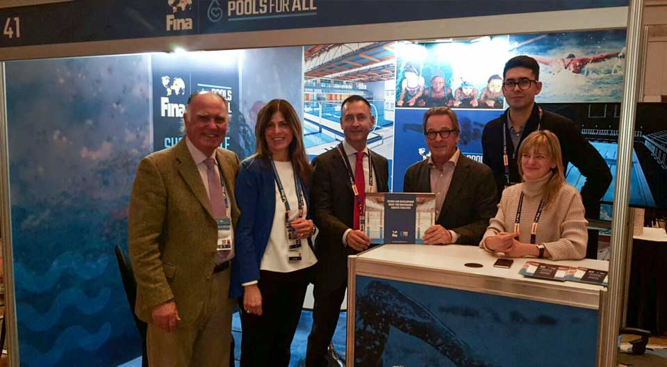 FINA and Myrtha combine to launch global 'Pools for All' initiative
