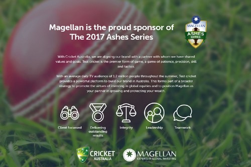 Magellan quits Cricket Australia Test sponsorship
