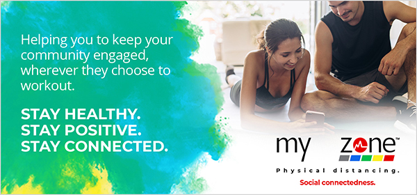 Myzone Global challenge helps with fitness motivation