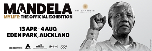 Eden Park partners with TEG Live to present Mandela My Life: The Official Exhibition