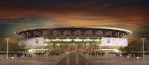 Populous designs world's largest arena in Manila