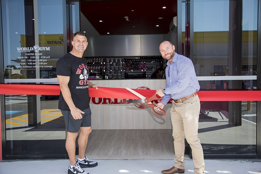World Gym franchise opens in Maroochydore