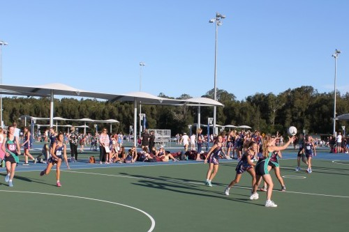 New courts put extra bounce into Maroochydore netball complex