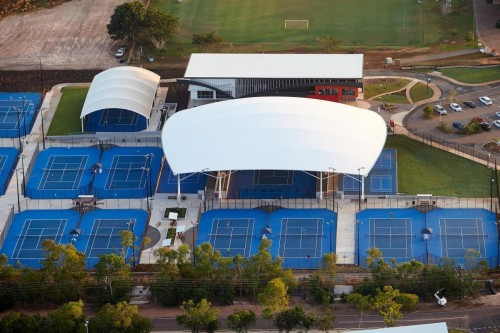 Darwin International Tennis Centre gets official opening