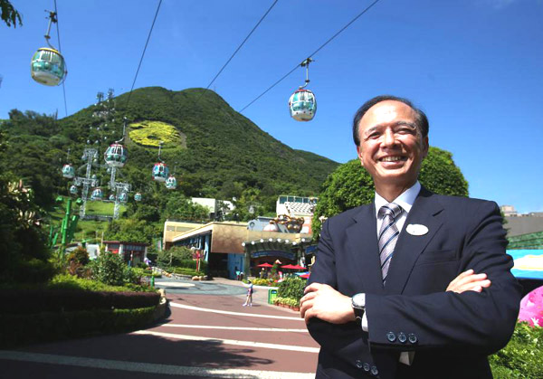 Ocean Park Chief Executive confident of attracting more visitors