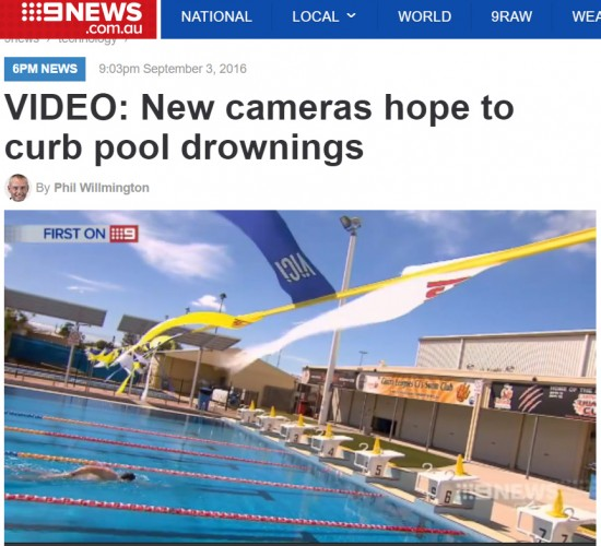 Channel 9 Brisbane news reports on benefits of the Poseidon