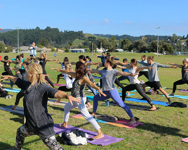 Auckland prepares for celebration of International Yoga Day