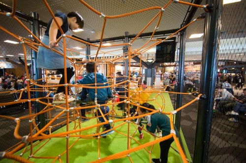 Melbourne Airport launches challenging new children's playspace