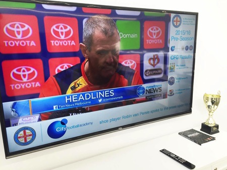 Melbourne City FC implements digital signage solution