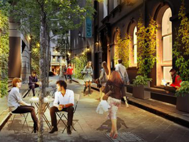 Melbourne's Laneways set to go green
