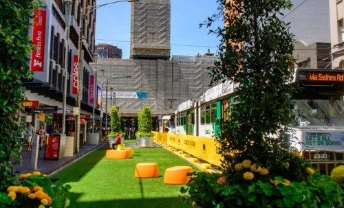 City of Melbourne opens pop-up park for summer