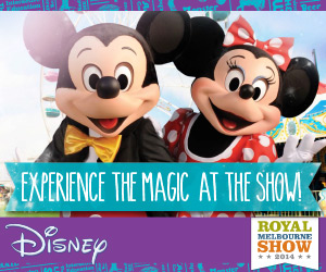 Disney magic draws crowds to Royal Melbourne Show