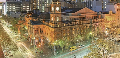 EPICURE renews long-term contract with Melbourne Town Hall
