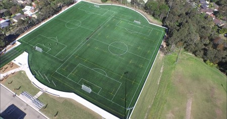 Warringah Council opens two synthetic sports fields