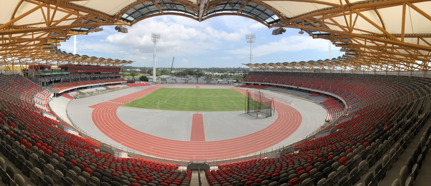 Metricon Stadium transforms ahead of 2018 Commonwealth Games opening ceremony