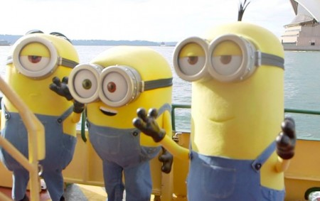Minions set to entertain at Luna Park Sydney