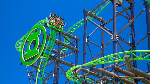 Movie World To Reopen Green Lantern Coaster Australasian Leisure