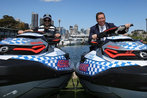 NSW Police launch jet ski squadron ahead of summer