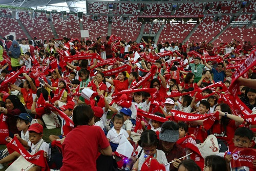 More than 800,000 participate in National Day GetActive! Singapore events