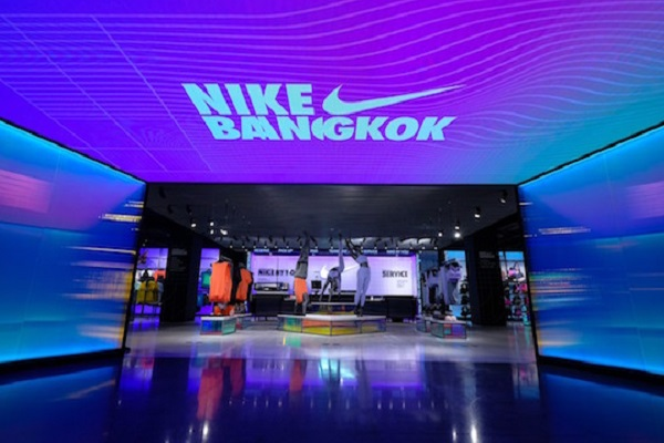 Flagship Nike store opens in Bangkok