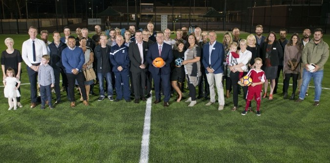 Geelong Council lights up state-of-the-art sports facility