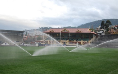 New high performance turf surface operational at historic North Hobart Oval