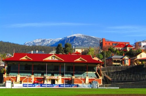 Grant for floodlights at North Hobart Oval