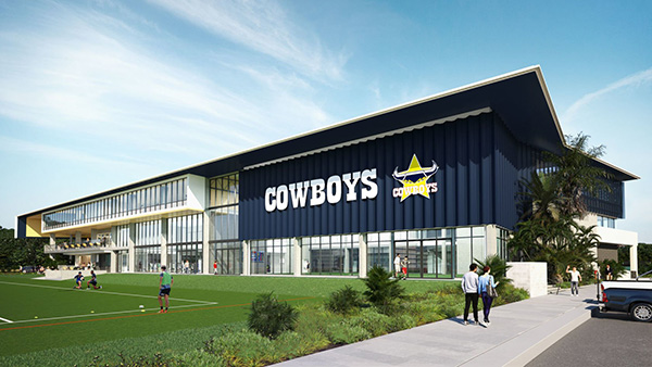 North Queensland Cowboys high-performance training centre officially opens
