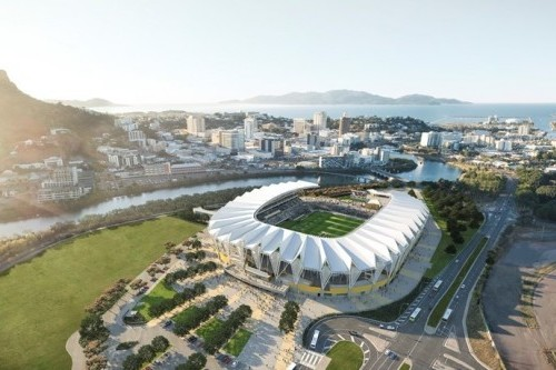 Construction of the North Queensland Stadium boosts local employment
