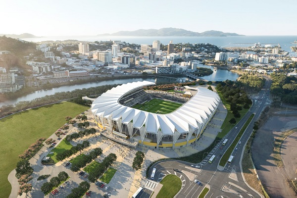 Townsville residents offered first look into new North Queensland Stadium