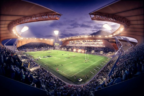 Four architects shortlisted to design the new North Queensland Stadium