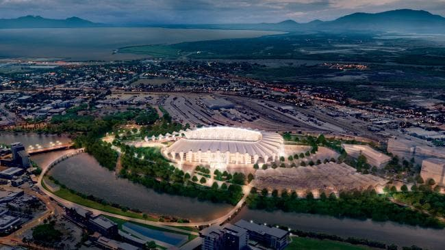 Flood aftermath to delay North Queensland Stadium completion date